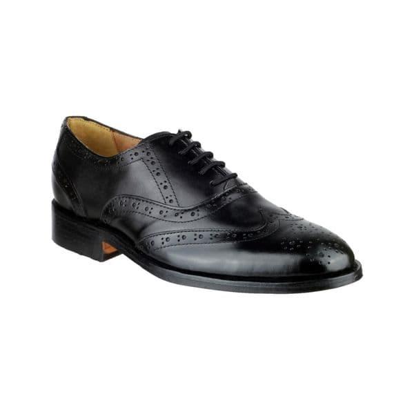 Amblers Ben Lace Mens Shoes Black